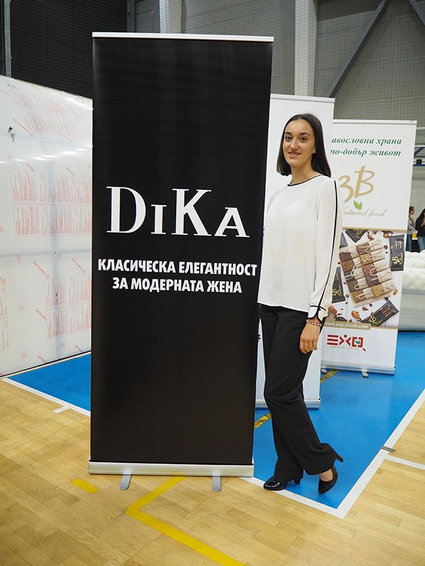 Style and elegance at the International tournament Lokomotiv Golden Cup with DiKa