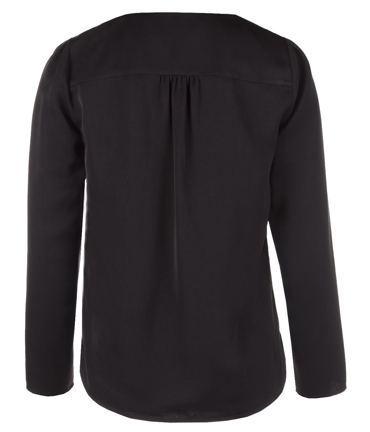 BLACK BLOUSE WITH LONG SLEEVES 1
