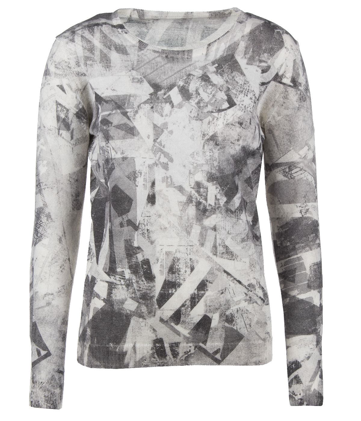 ABSTRACT PRINT SWEATER 0