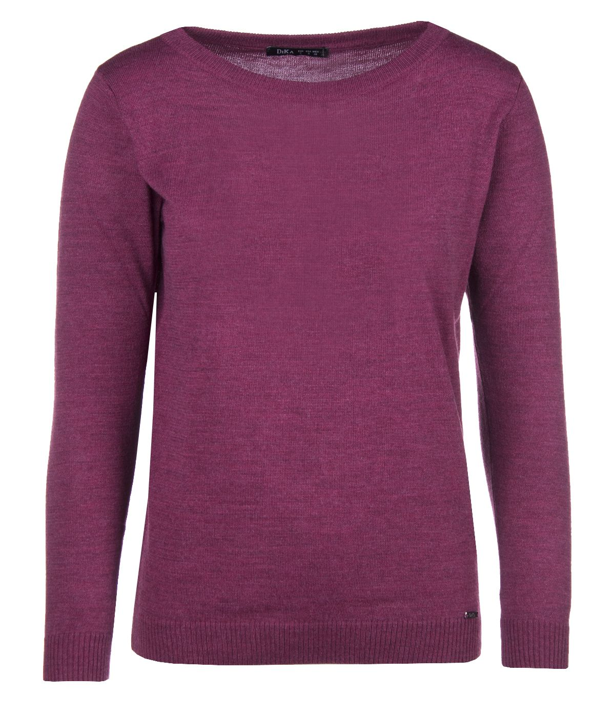 SWEATER WITH ROUND NECKLINE AND LONG SLEEVES 0