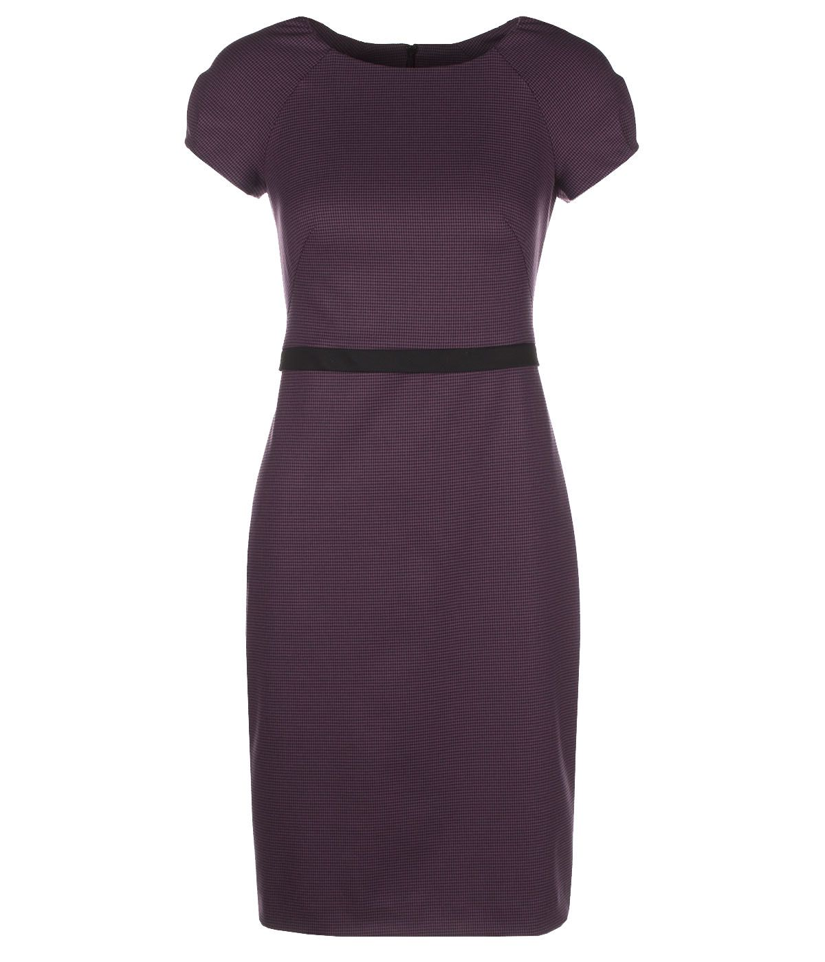 PENCIL DRESS WITH SHORT SLEEVES 0