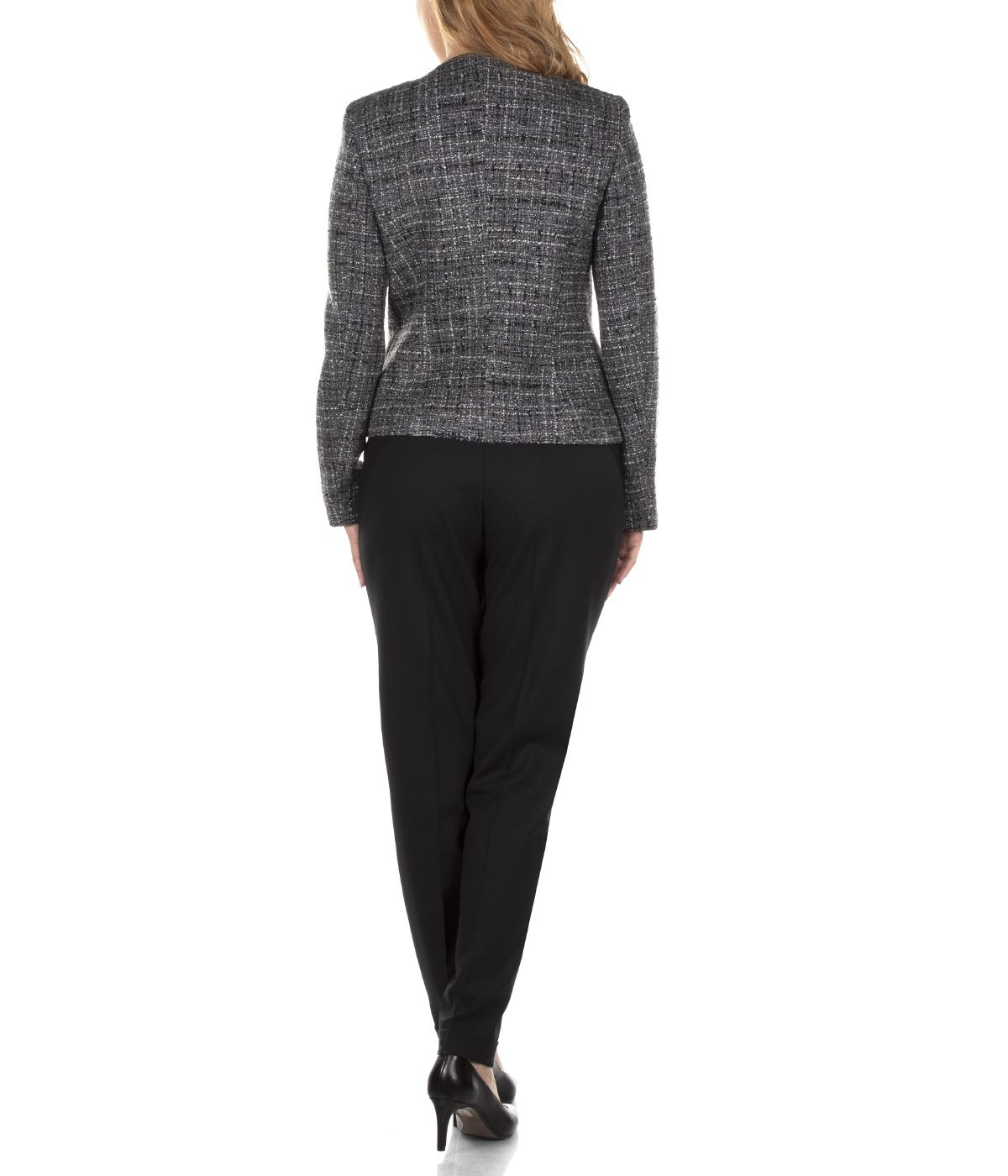 SHORT JACKET WITH ASYMMETRIC CONCEALED CLOSURE 4