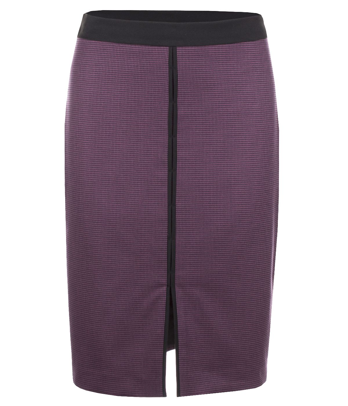 PENCIL SKIRT WITH FRONT SLIT 0