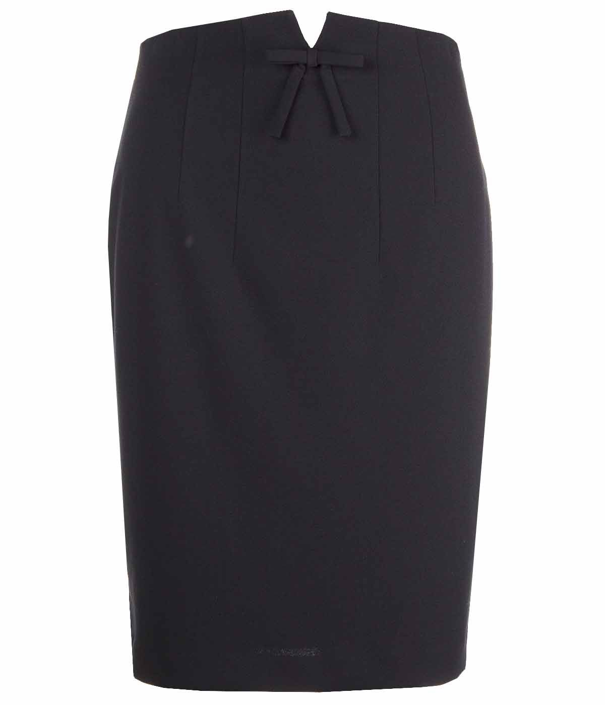 PENCIL SKIRT WITH RIBBON 0
