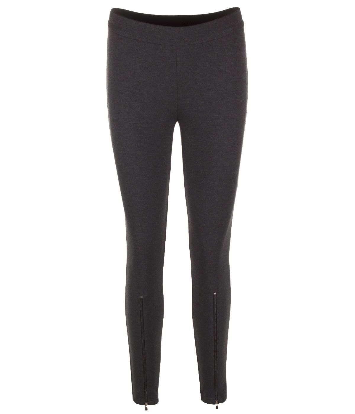 SLIM FIT BLACK LEGGINGS