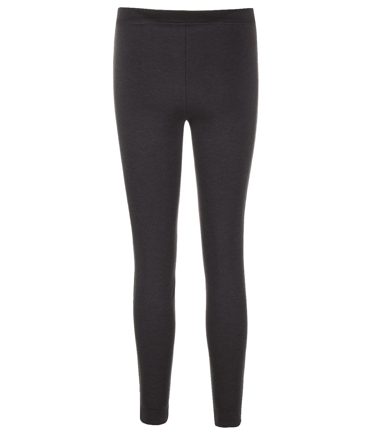SLIM FIT BLACK LEGGINGS 1