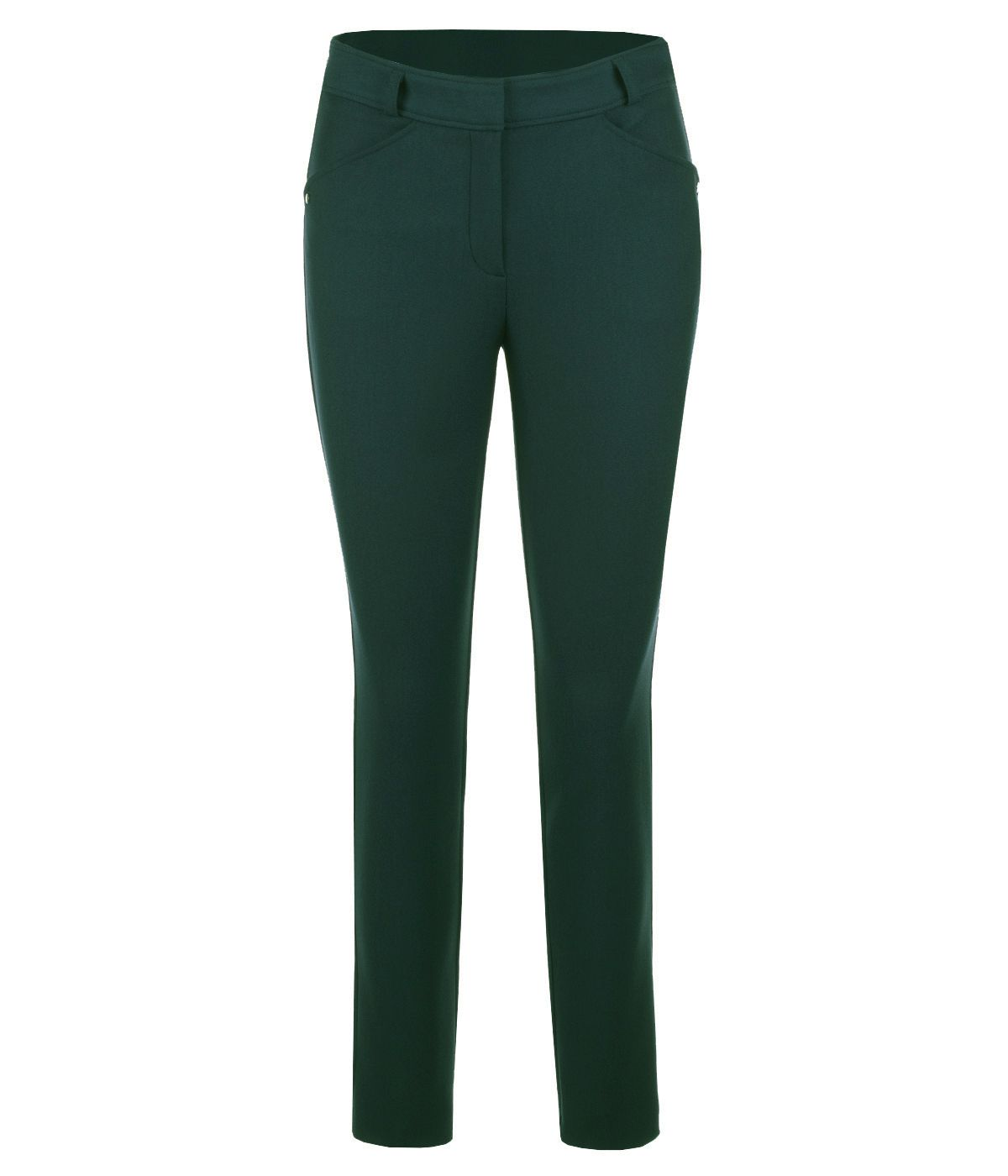 DARK GREEN SLIM FIT TROUSERS 0