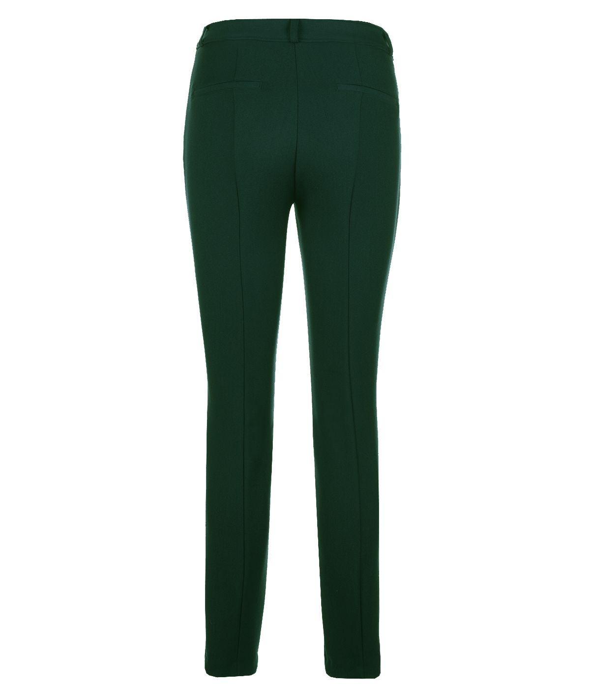 DARK GREEN SLIM FIT TROUSERS 1