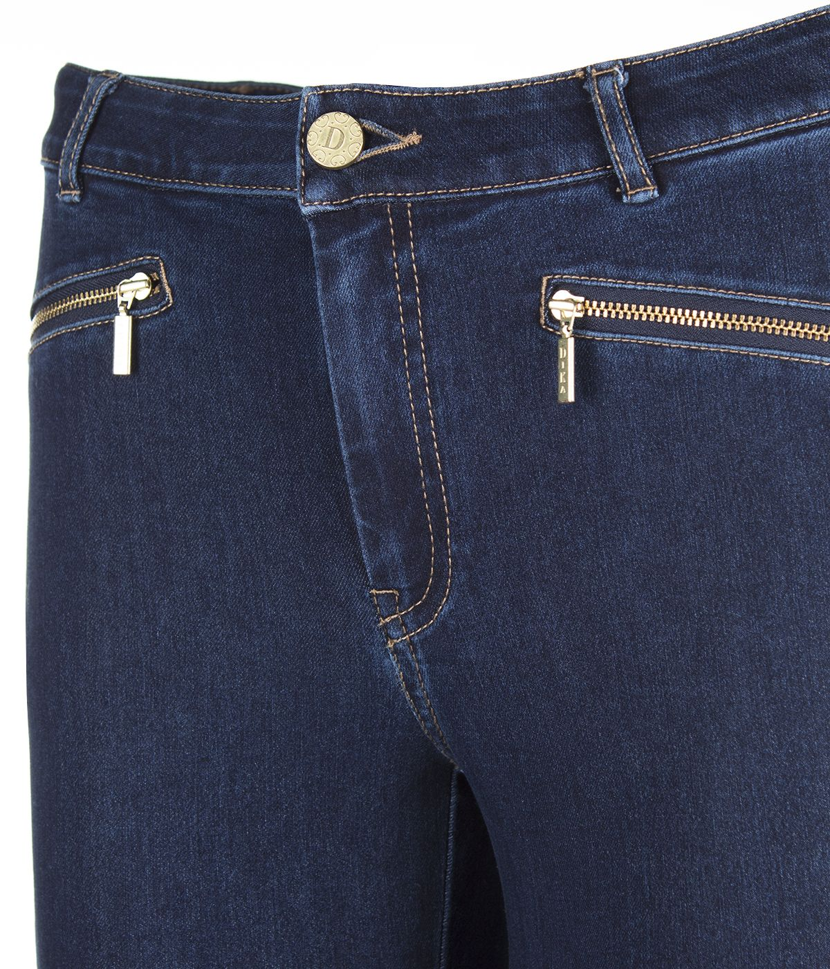 SLIM FIT JEANS WITH 2 ZIPPERS 2