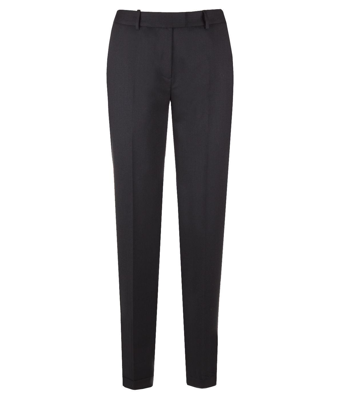 CLASSIC FIT BLACK TROUSERS 0