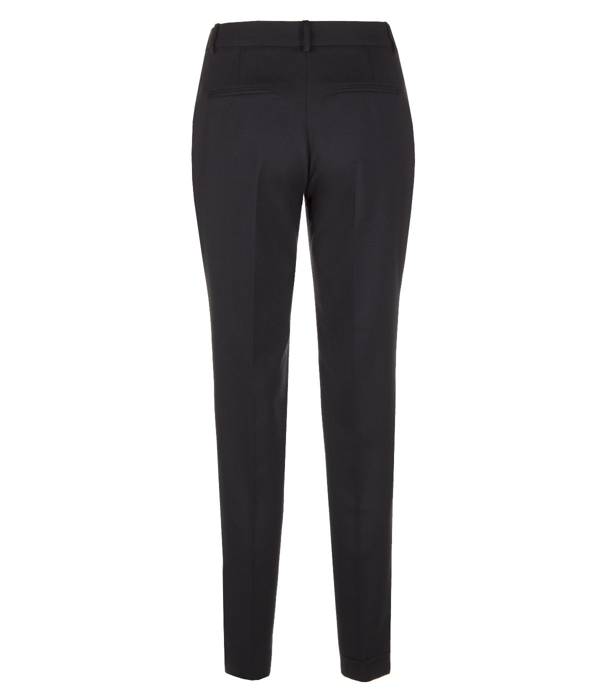 CLASSIC FIT BLACK TROUSERS 1