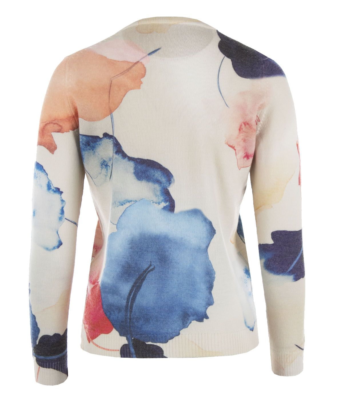 Nature - sweater with care for the environment, with recycled polyester and wool 1