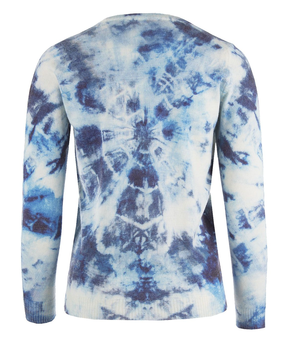 Blue sky - sweater with care for the environment, with recycled polyester and wool 1