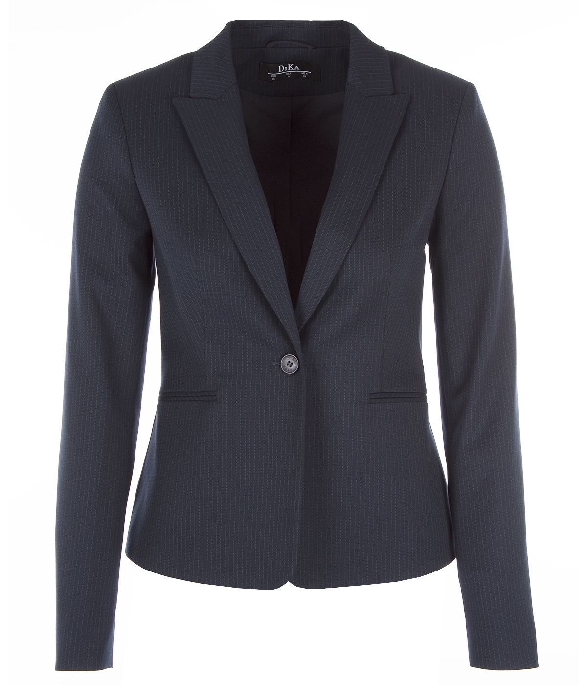Fitted jacket with viscose 1