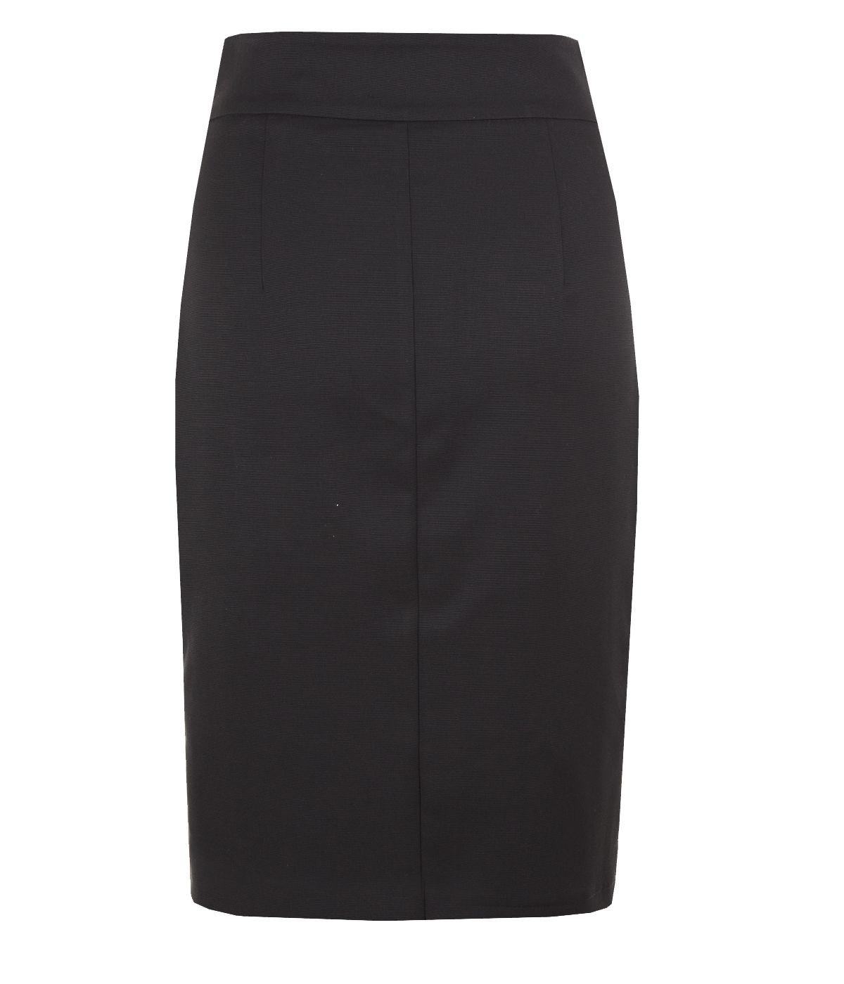 Skirt with asymmetrical zip closure, with rayon and viscose 1