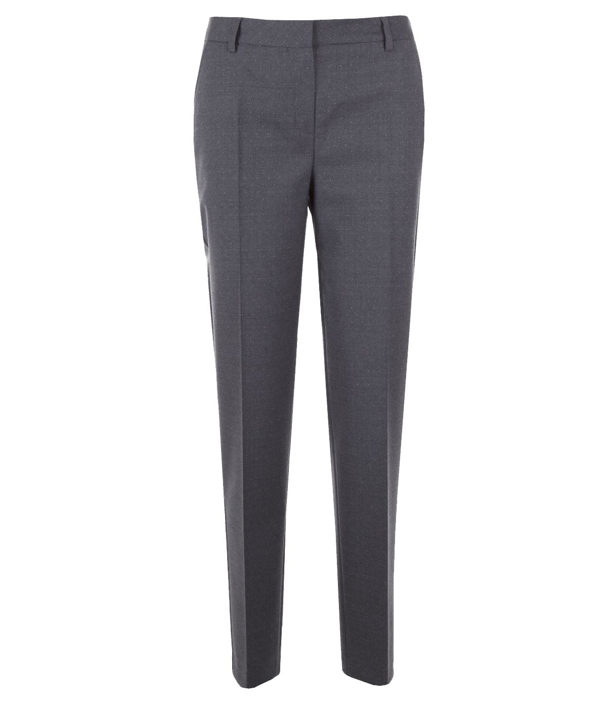 Elegant trousers with crease, with wool 0