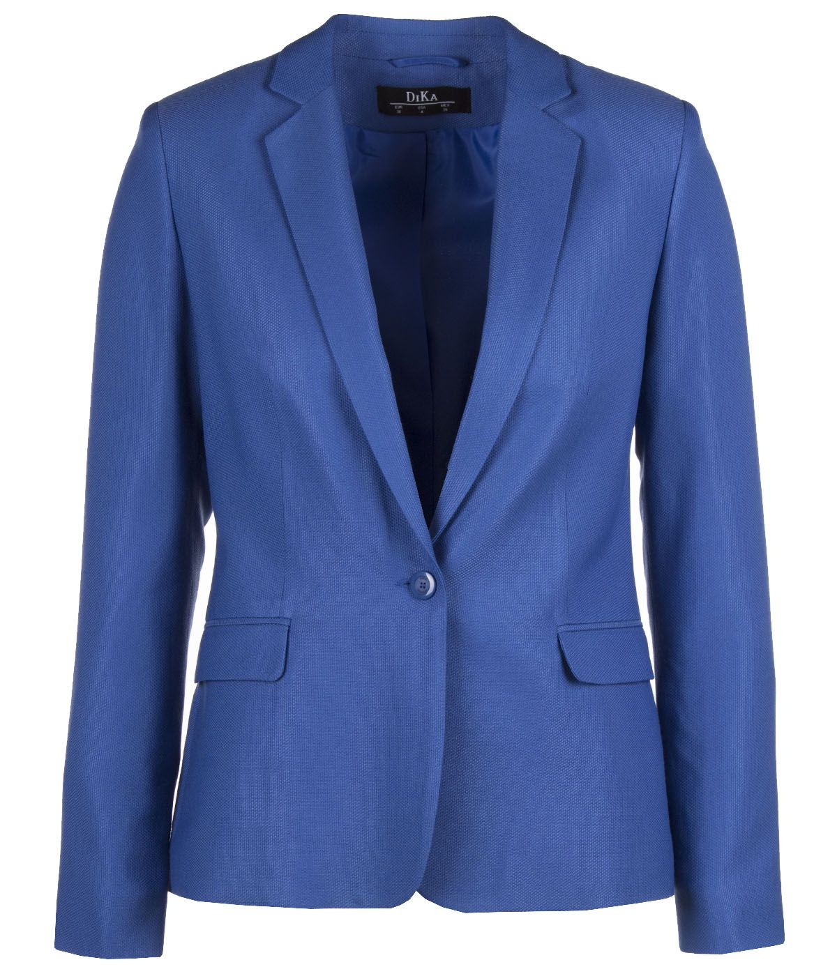 Single-breasted jacket with lapels with rayon and viscose 0