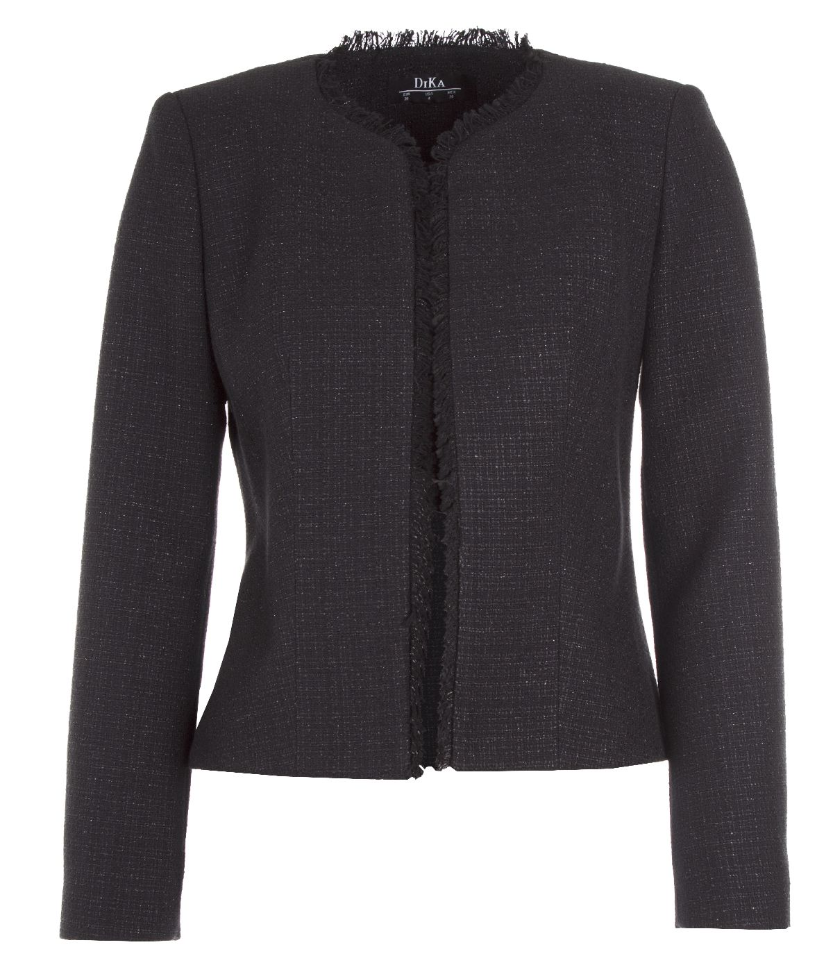 Tweed jacket with cotton and rayon 0