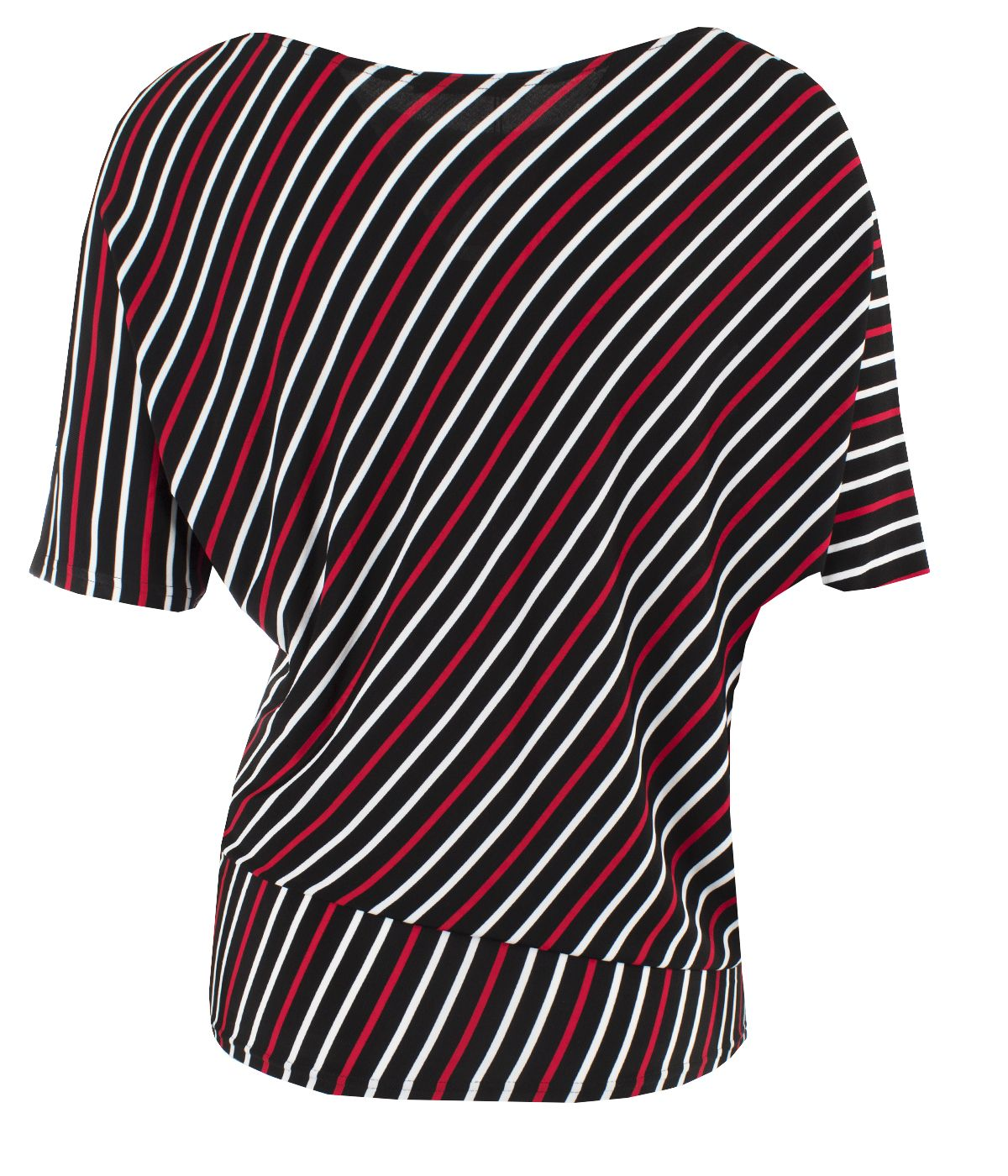 Tunic with  rayon with striped print 1