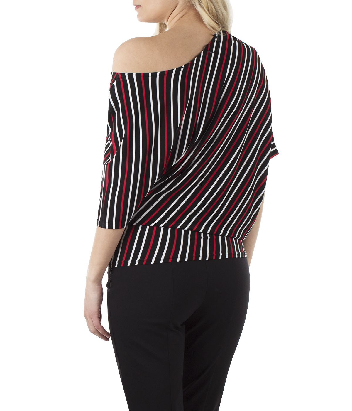 Tunic with  rayon with striped print 3