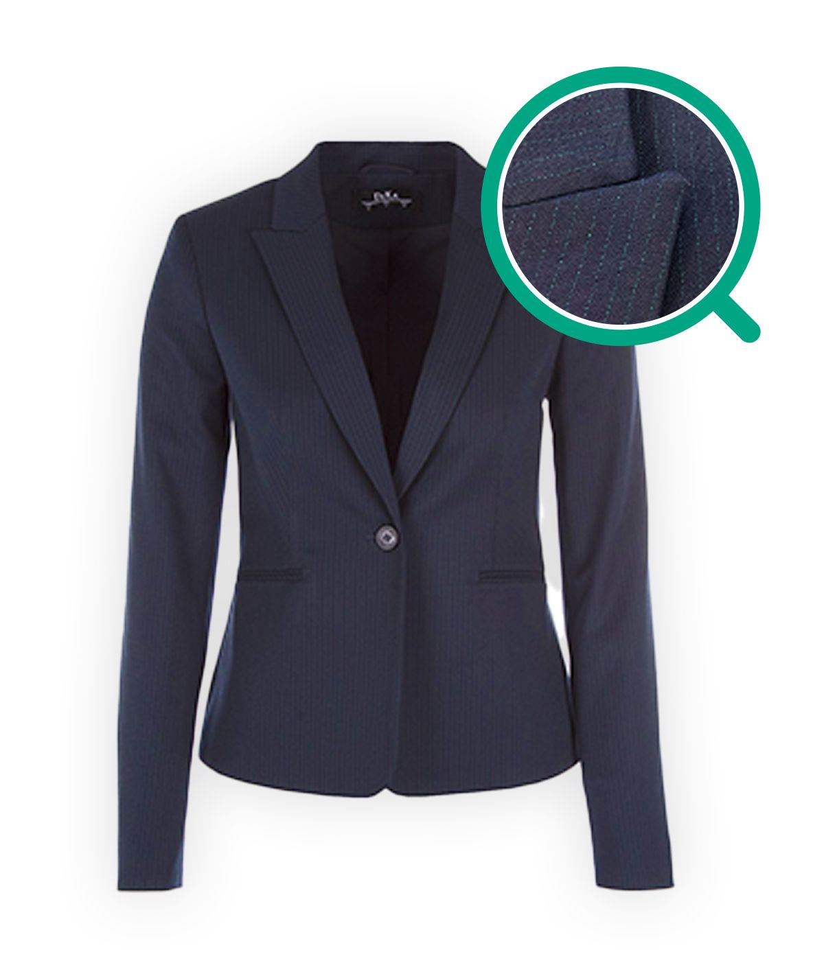 Fitted jacket with viscose 0
